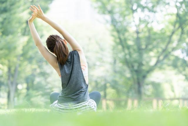 身体のバランス調整